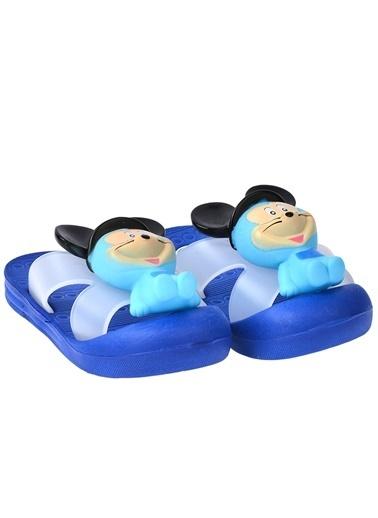 Kiko Kids Kiko Akn E238.000 Plaj Havuz Banyo Kız/Erkek Çocuk Sandalet Terlik Saks